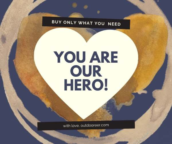 Black Friday - buy only what you need and you are our HERO!