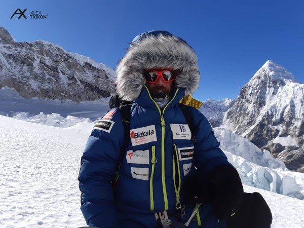 Alex Txikon mountaineer expedition leader